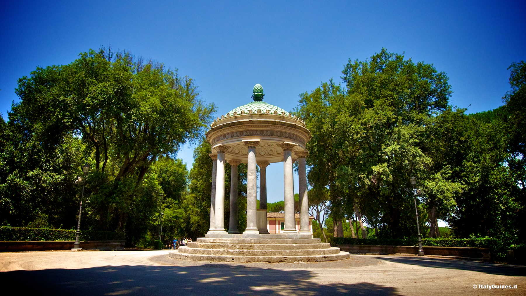 Pictures of Villa Borghese, Rome - Italy - ItalyGuides.it Pictures