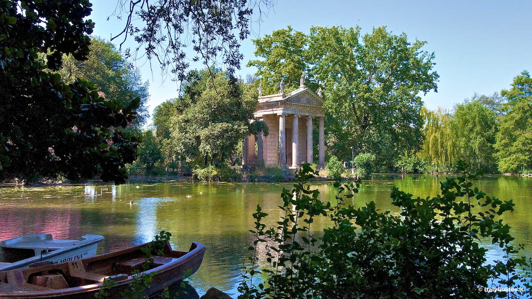 Pictures Of Villa Borghese Rome Italy Italyguides It