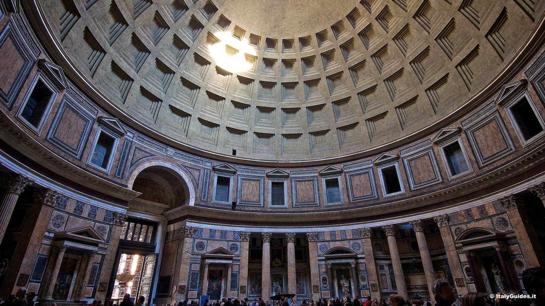 the pantheon and its effect on The pantheon and hadrian's building program after visiting the pantheon and admiring its elegant all around the dome gives the visual effect of.
