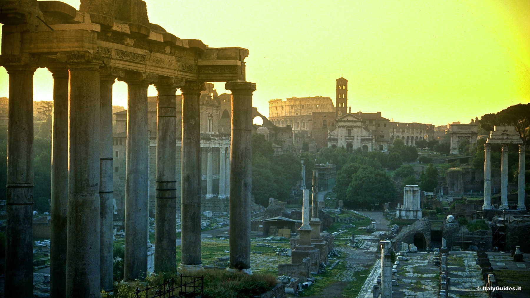 Pictures Of The Roman Forum Rome Italy Italyguides It