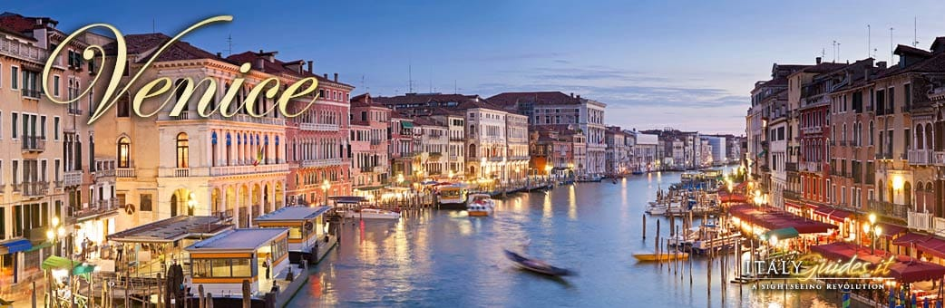 Virtual tour of Venice Italy History facts top attractions – Tourist Map Of Venice Italy
