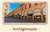 The Archiginnasio, Bologna Italy