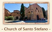 Church of Santo Stefano, Bologna Italy