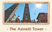 The Asinelli Tower (Torre degli Asinelli) - The two towers of Bologna Italy