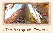 The Azzoguidi Tower (Torre Azzoguidi or Torre Altabella) - The two towers of Bologna Italy