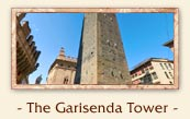 The Garisenda Tower (Torre Garisenda) - The two towers of Bologna Italy