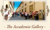 Accademia Gallery (Galleria dell'Accademia), Florence Italy
