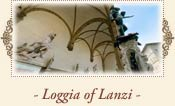 The Loggia of Lanzi, also called the Loggia della Signoria, Florence Italy