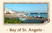 Bay of St. Angelo (Baia di Sant Angelo), isle of Ischia, Italy