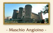 Maschio Angioino, Naples Italy: This imposing castle, surrounded by deep moats, was built in 1282 by Pierre de Chaulnes and Pierre d'Angincourt, the architects of Charles I of Anjou. It was modelled on the castle at Angers. A remarkable triumphal arc embellishes the entrances on the town sid