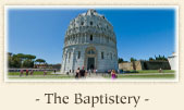 The Baptistery, Pisa Italy