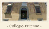 The Palazzo del Collegio Puteano (Palace of the Putean College), Pisa