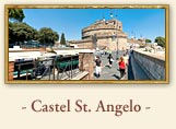 Castel St. Angelo (Hadrian's Mausoleum: Castle St. Angelo), Rome Italy