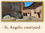 Castel Sant'Angelo: Courtyard