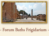 Roman Forum Baths: Frigidarium, Ancient Ostia, Rome