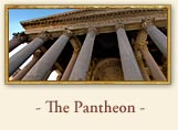The Roman Pantheon, Rome Italy