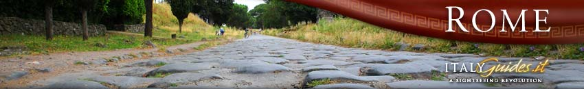Ancient Roman Roads, Rome Italy