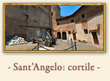 Castel S'Angelo: Cortile interno