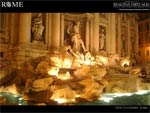 Trevi Fountain desktop wallpaper