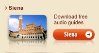 Free audio guides of Siena