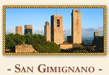 Virtual travel to San Gimignano, Italy