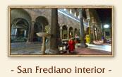 Fonte battesimale - Basilica di San Frediano, Lucca