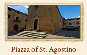 Church of Sant'Agostino, San Gimignano Italy
