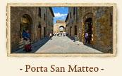 Porta San Matteo, San Gimignano Italy