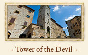 Tower of the Devil, San Gimignano Italy