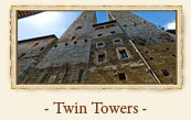 Two Towers (Twin Towers), San Gimignano Italy