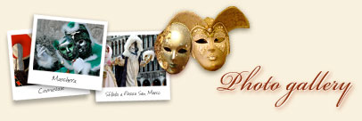 Pictures of Venice Carnival (Carnevale di Venezia photo gallery)