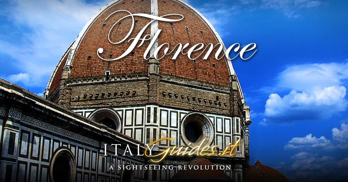 Italian Florence: Interactive Map Of Florence, Italy