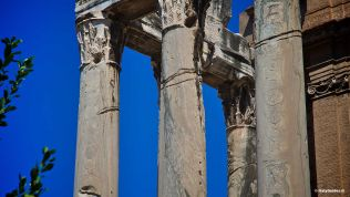 The Roman Forum: Temple of Antoninus and Faustina
