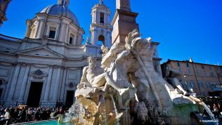 Piazza Navona: Fountain of the Four Rivers