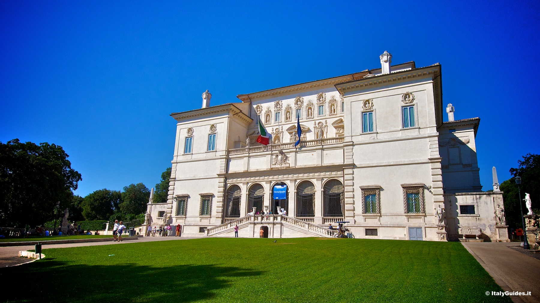 Pictures Of Villa Borghese  Rome - Italy