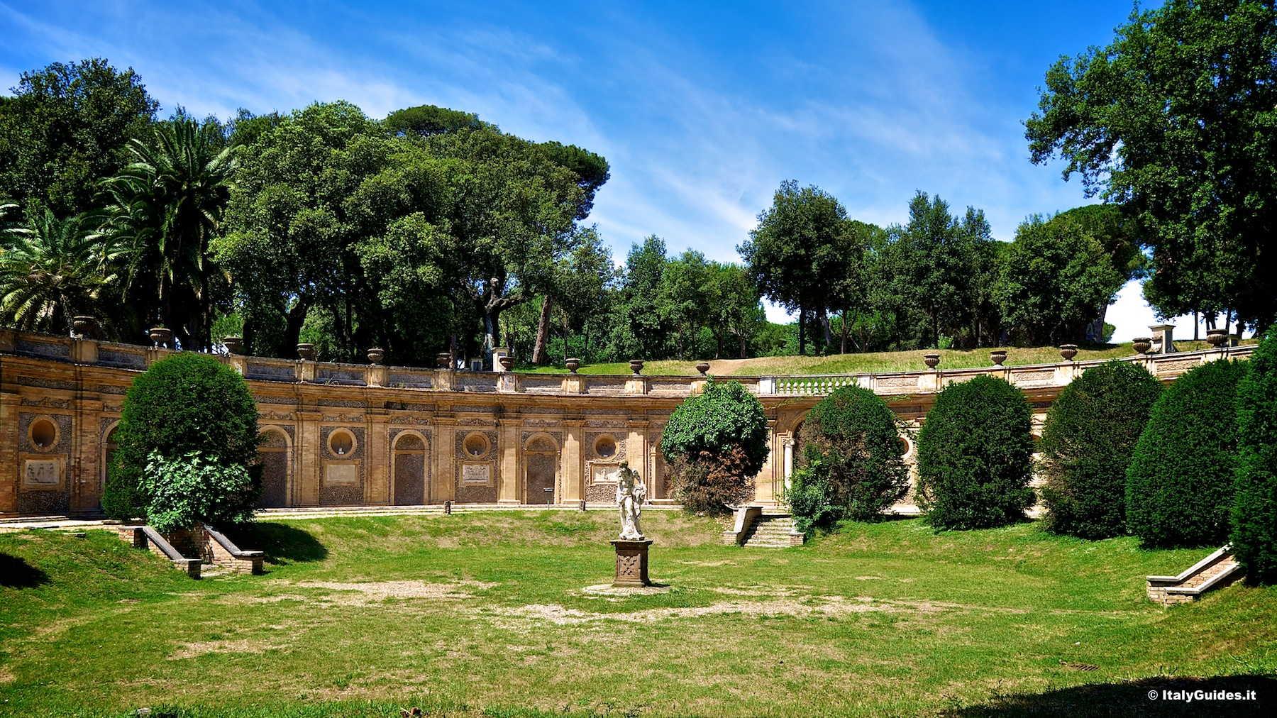 Fantastico Giardino Segreto Roma Immagine Di Giardino Idea