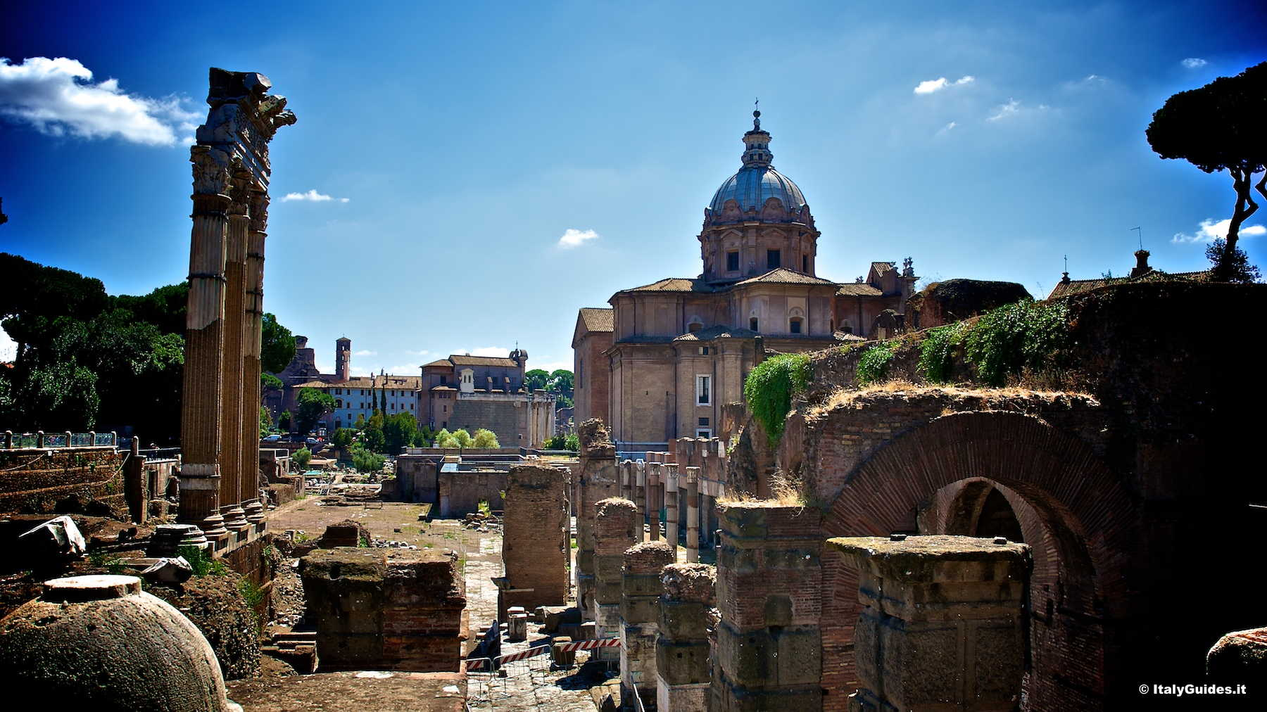 Pictures Of The Roman Forum  Rome Italy