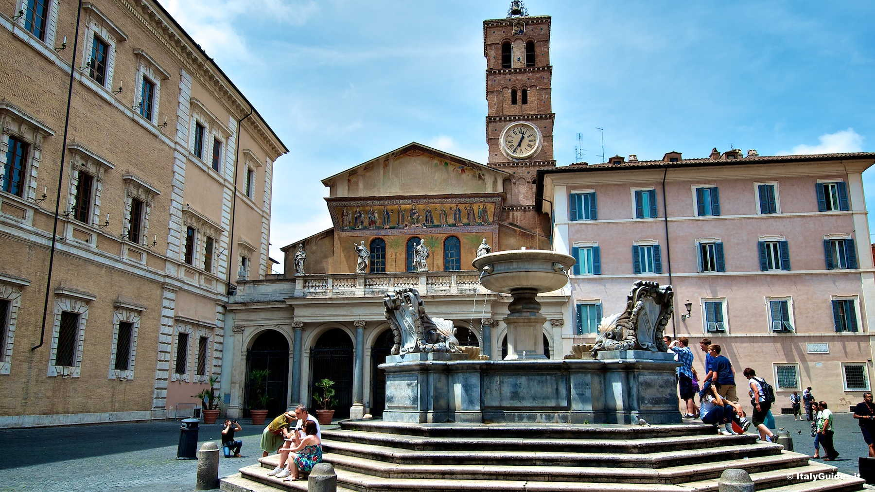 Pictures Of Trastevere Rome Italy Italyguides It