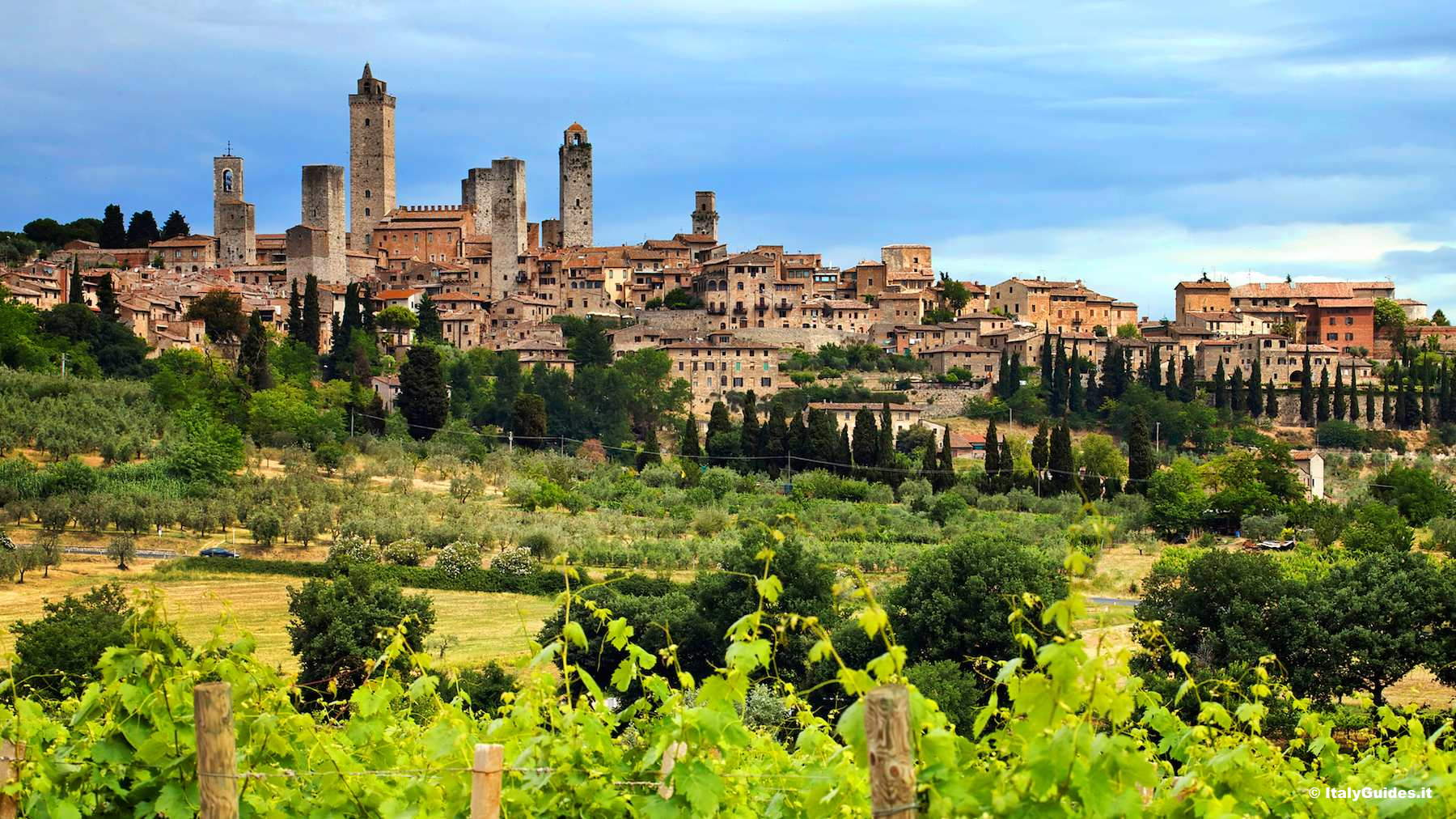 Pictures of San Gimignano, photo gallery and movies of San Gimignano ...