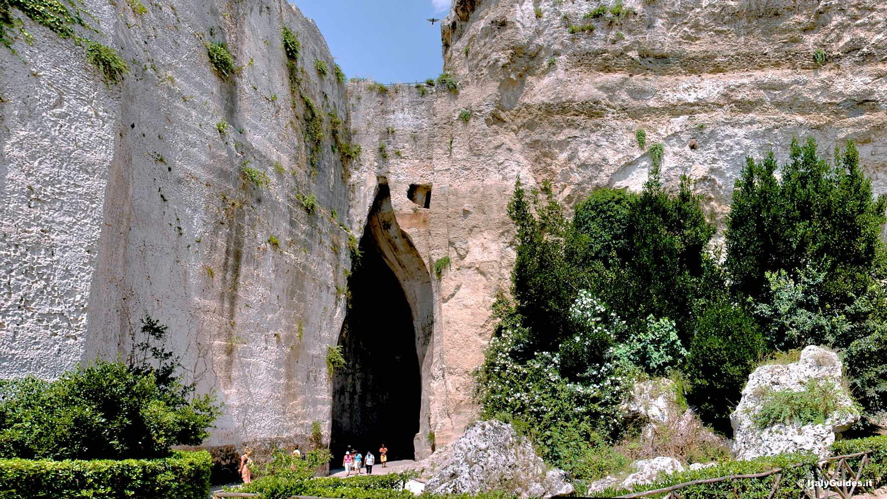 Image result for syracuse ear of dionysius