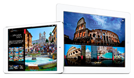 Travel guides apps of Italy for iPad