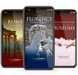 Travel guides apps of Italy