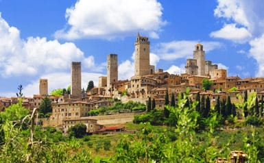 Travel guide to San Gimignano, Italy