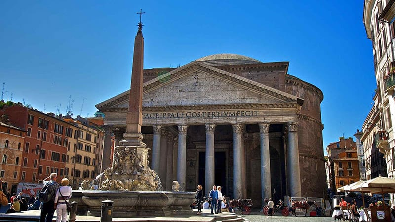 Pictures of the Roman Pantheon