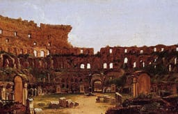 Interior of the Colosseum, Rome (1832) by Thomas Cole