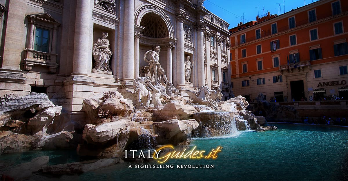 Trevi Fountain  Rome - Italy