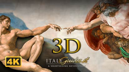 Sistine Chapel: Ceiling - Michelangelo 1 of 2 | 3D virtual tour & documentary