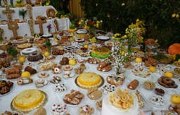 St. Joseph's Day table