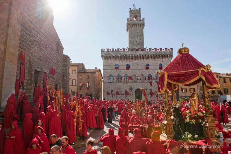 The Twilight Saga 'New Moon' and Volterra, Italy - film location