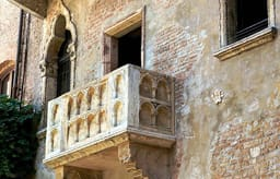 Juliet's house balcony